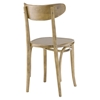 Skate Wood Dining Side Chair - Natural - EEI-1542-NAT