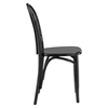Eon Wood Dining Side Chair - Black - EEI-1543-BLK