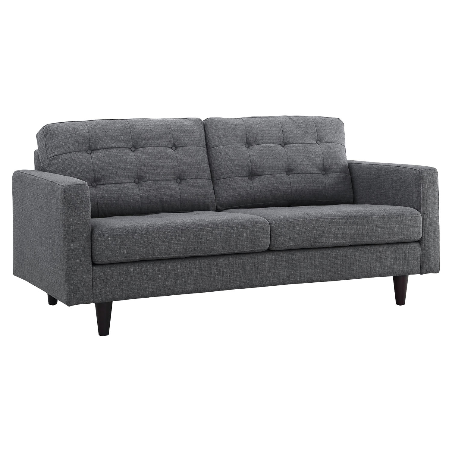 Empress Upholstered Loveseat Tufted Dcg Stores
