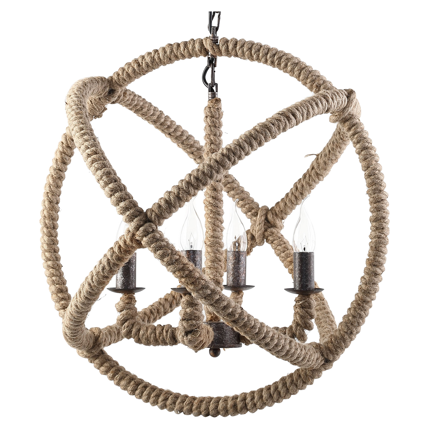Intention Brown Chandelier - EEI-1575