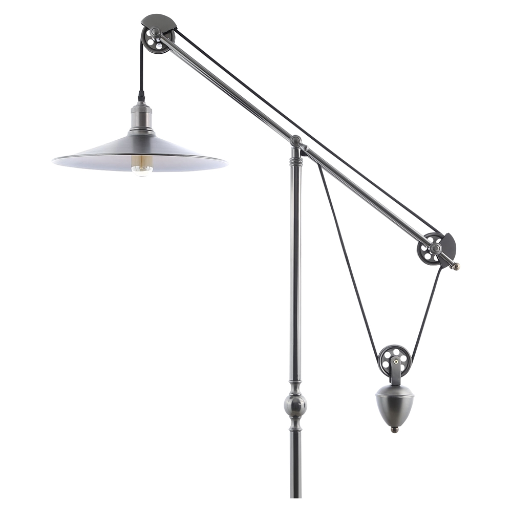 credence metal table lamp silver dcg stores. Black Bedroom Furniture Sets. Home Design Ideas