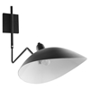 View Double Fixture Wall Lamp - Black - EEI-1590