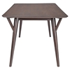 Brace Dining Table - Walnut - EEI-1611-WAL