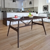Wedge Dining Table - Walnut - EEI-1614-WAL