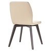 Proclaim Dining Side Chair - Walnut, Beige - EEI-1622-WAL-BEI