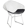 Bertoia Diamond Chair - EEI-163-BLK