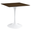 "Lippa 36"" Dining Table - Walnut - EEI-1642-WAL"