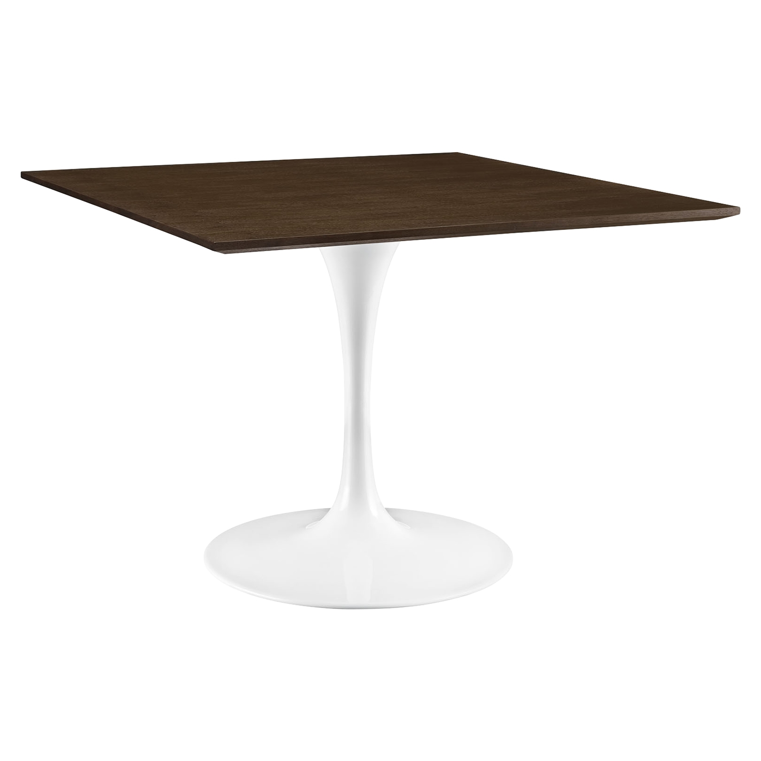 "Lippa 48"" Wood Dining Table - Walnut - EEI-1644-WAL"
