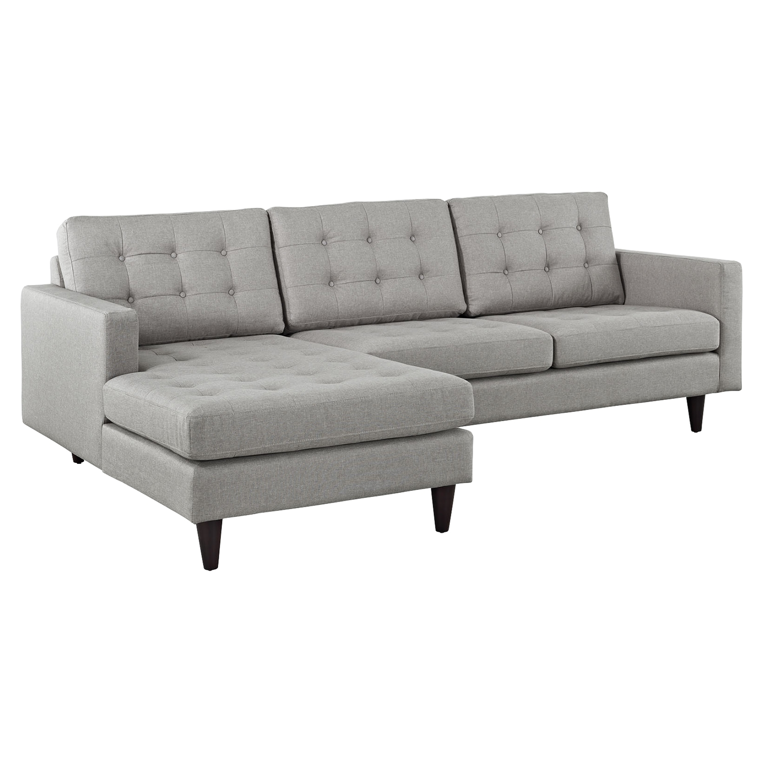 Empress Left-Facing Upholstered Sectional Sofa - EEI-1666