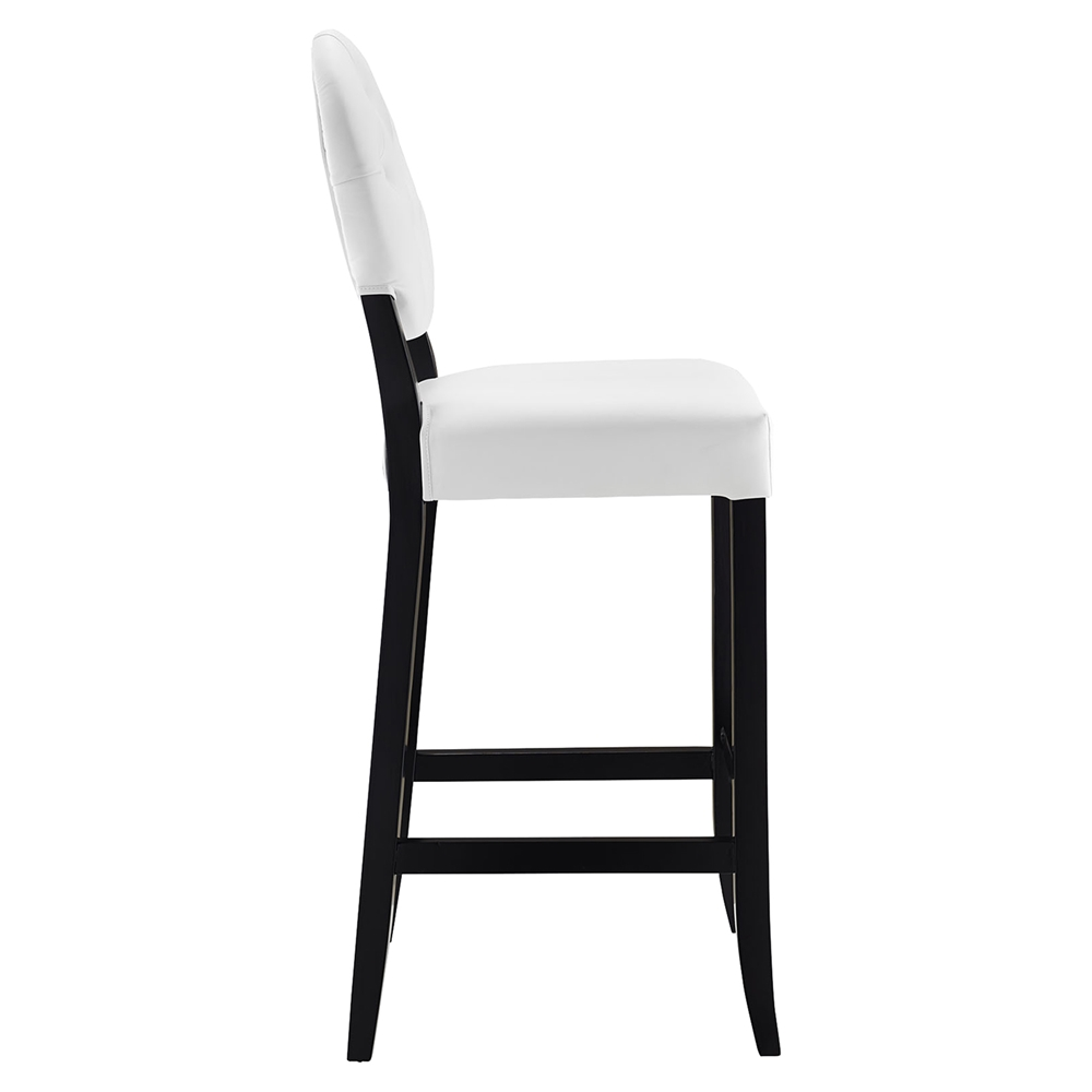 Button Bar Stool White Tufted Set of 4 DCG Stores : eei 1686 whi 1 from www.dcgstores.com size 1000 x 1000 jpeg 72kB
