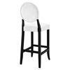 Button Bar Stool - White, Tufted (Set of 4) - EEI-1686-WHI