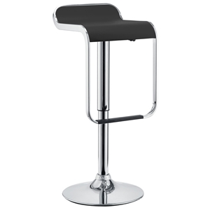 LEM Piston Style Adjustable Height Bar Stool