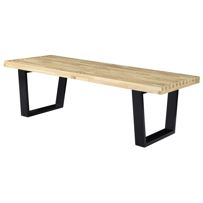 Nelson Bench Platform Bench Natural Dcg Stores