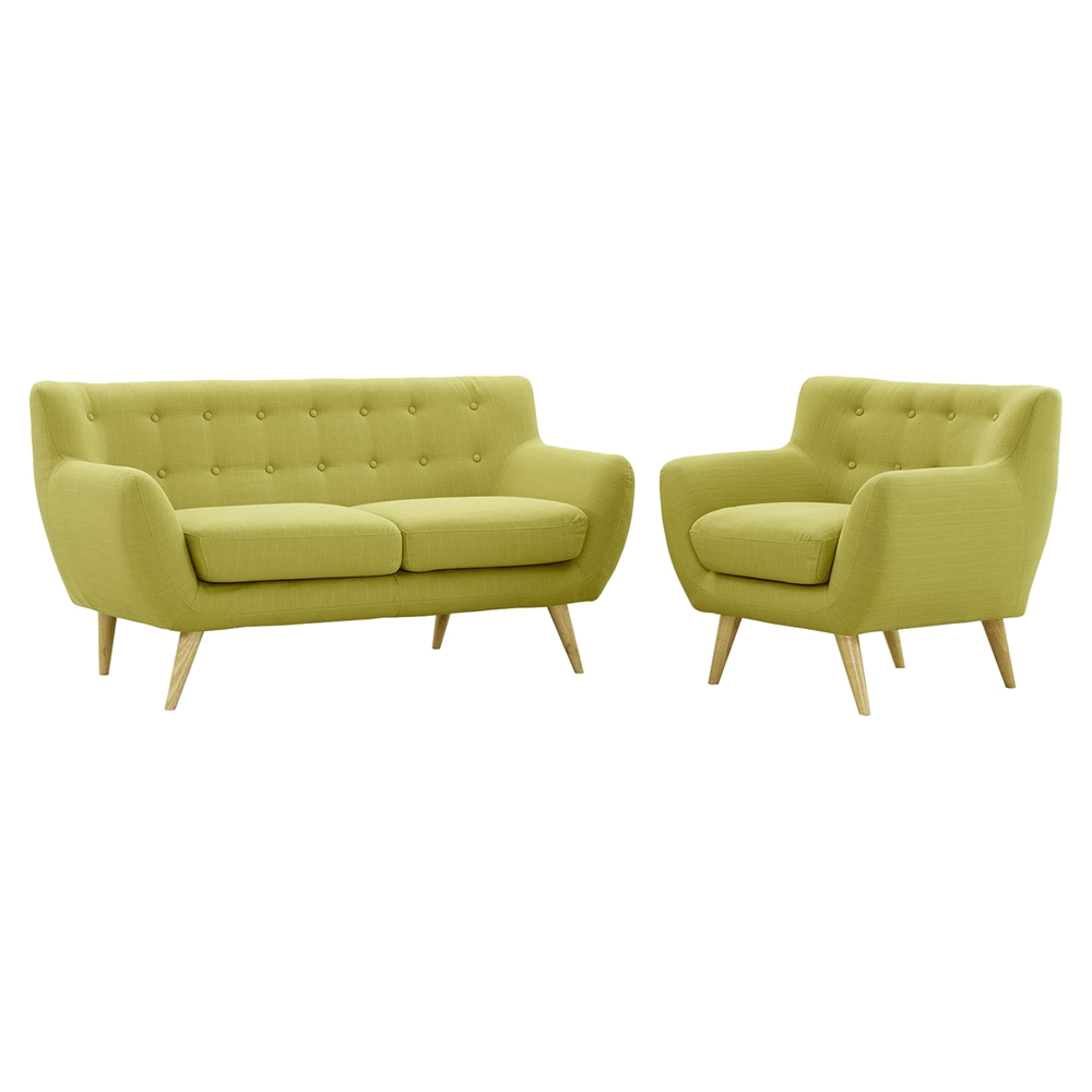 Remark 2 pieces sofa set tufted dcg stores for 2 piece furniture set
