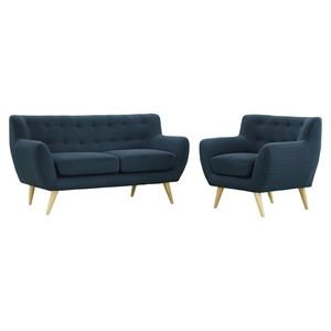 Remark 2 Pieces Sofa Set - Tufted