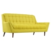 Response Fabric Loveseat - Flared Arm, Tufted - EEI-1787