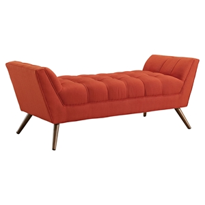 Response Medium Fabric Bench - Tufted