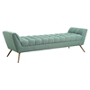 Response Fabric Bench - Tufted - EEI-1790
