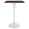 "Lippa 28"" Walnut Bar Table - EEI-1829-WAL"