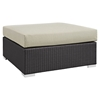Convene Outdoor Patio Large Square Ottoman - EEI-1845-EXP