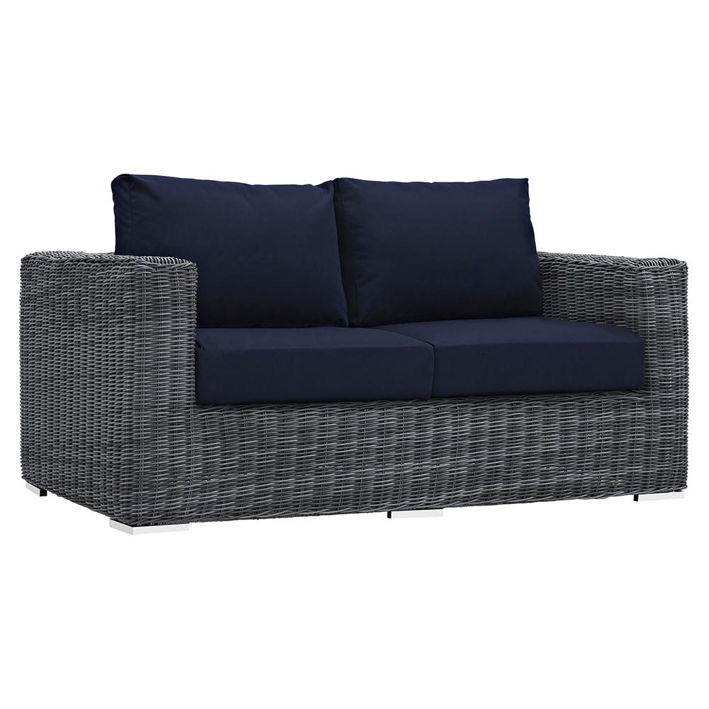 Summon 9 Pieces Outdoor Patio Sectional Sofa Set