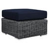 Summon 10 Pieces Outdoor Patio Sectional Set - Sunbrella Canvas Navy - EEI-1902-GRY-NAV-SET