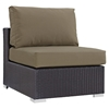 Convene Outdoor Patio Armless - EEI-1910-EXP