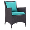 Convene Dining Outdoor Patio Armchair - EEI-1913-EXP