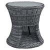 Summon Patio Side Table - Gray - EEI-1991-GRY