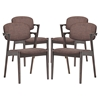 Spunk Upholstery Dining Armchair (Set of 4) - EEI-1998-WAL-SET