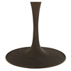 "Drive 60"" Round Dining Table - Wood Top, Brown - EEI-2005-BRN-SET"