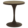 "Drive 28"" Dining Table - Wood Top, Brown - EEI-2006-BRN-SET"