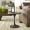 Drive Side Table - Wood Top, Brown - EEI-2007-BRN