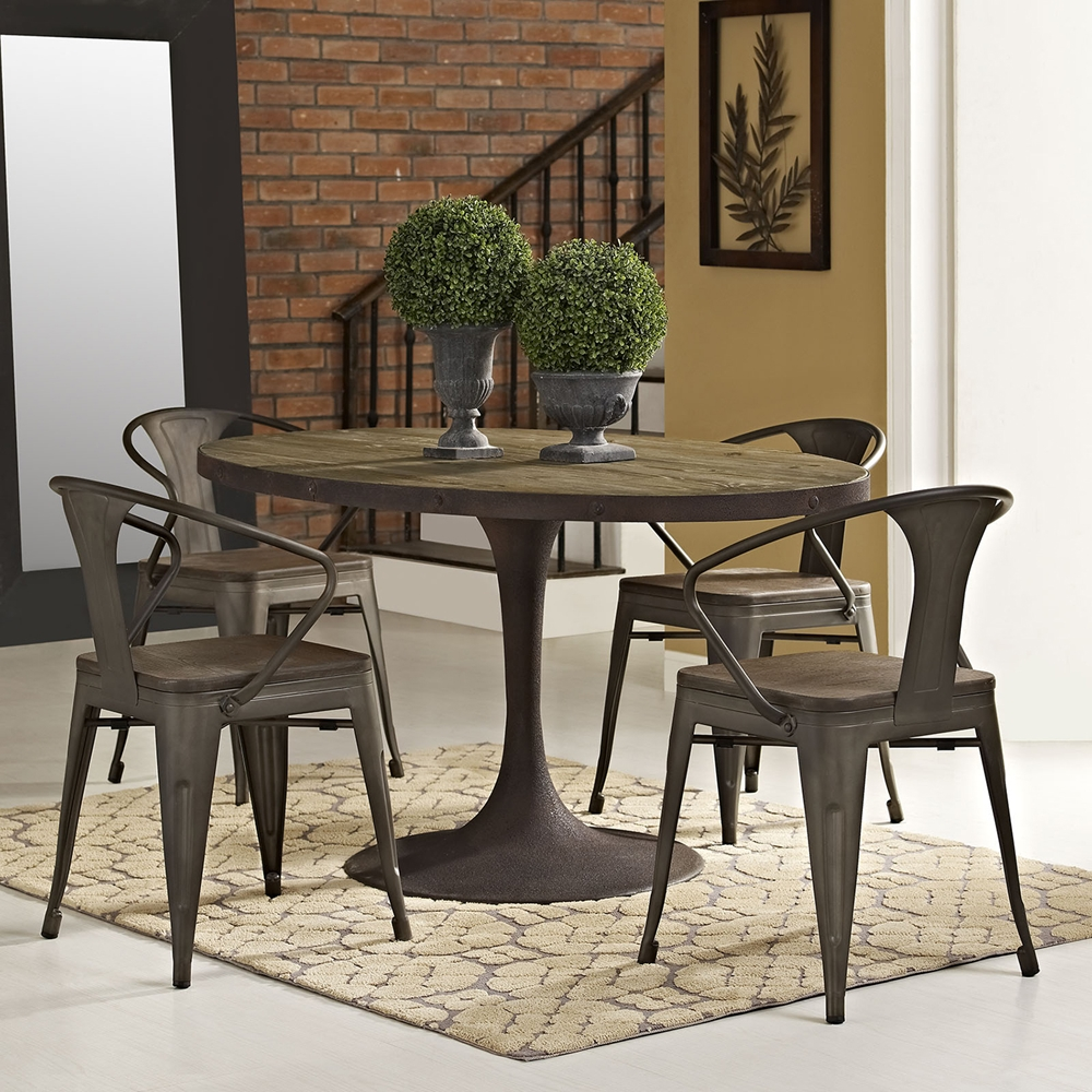 oval tables kitchen