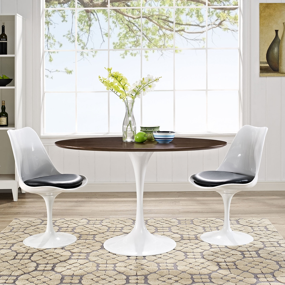 "Oval Kitchen Table And Chairs: Lippa 48"" Oval Dining Table - Walnut"