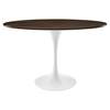 "Lippa 48"" Oval Dining Table - Walnut - EEI-2019-WAL"