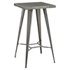 Direct Metal Bar Table - Gunmetal - EEI-2037-GME