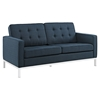 Loft Fabric Loveseat - Tufted - EEI-2051