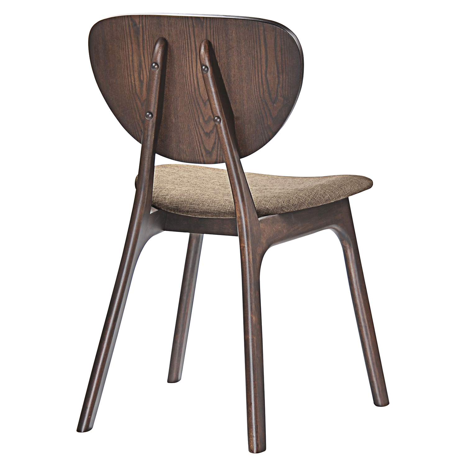 Murmur Dining Side Chair - Wood Frame (Set of 4) - EEI-2063-WAL-SET