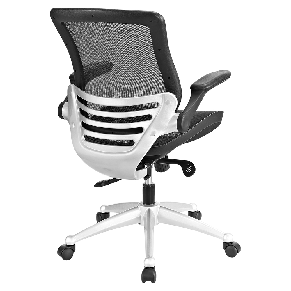 All Mesh Office Chair Adjustable Height Swivel Black DCG Stores