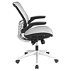 Edge All Mesh Office Chair - Adjustable Height, Swivel, Gray - EEI-2064-GRY