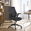 Force Mesh Office Chair - Adjustable Height, Swivel, Black - EEI-2065-BLK