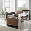 Trip Lounge Chair - Brown Leather - EEI-2070-BRN