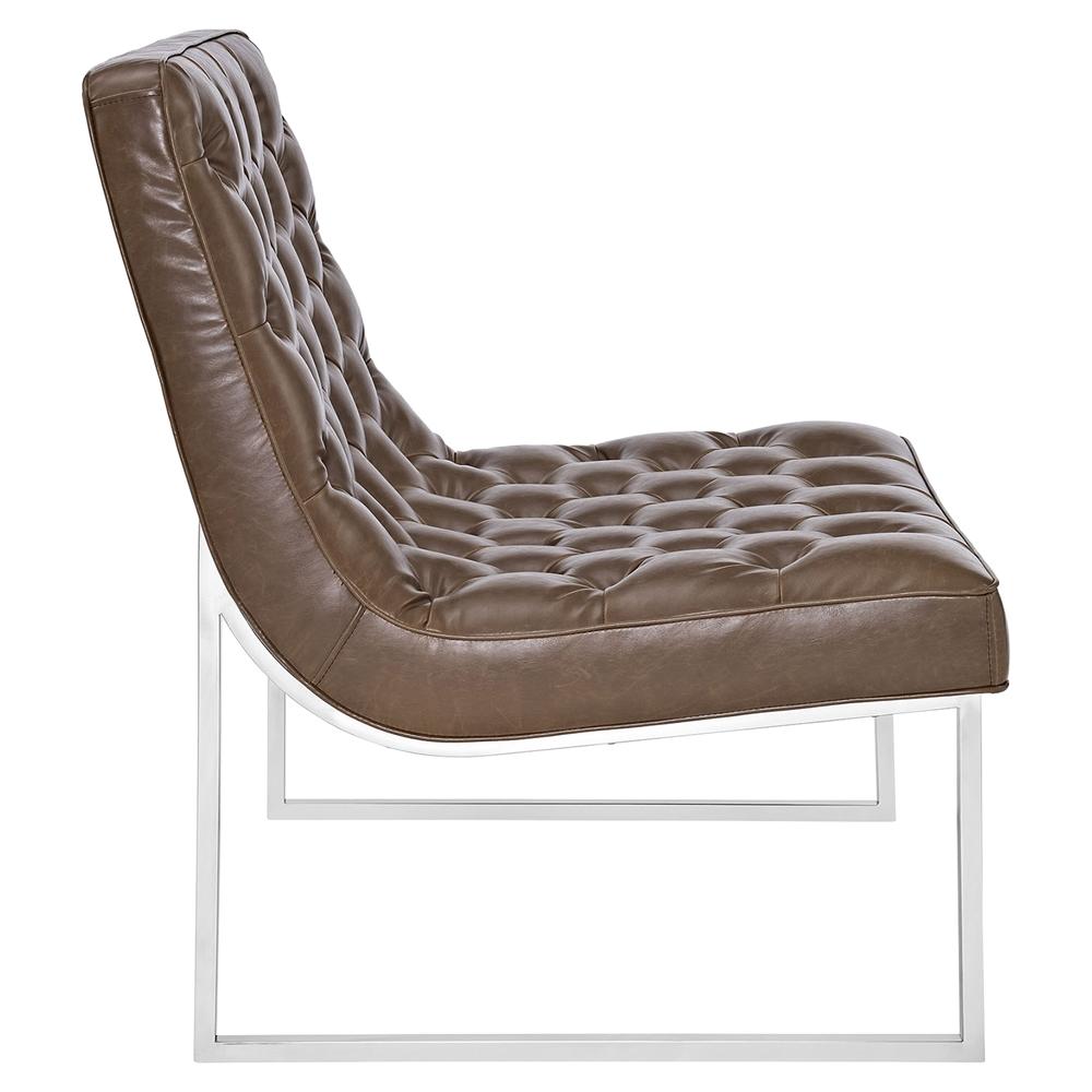 Ibiza Memory Foam Lounge Chair Button Tufted