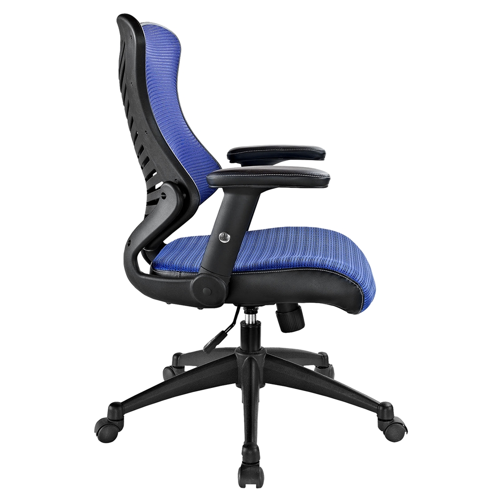 Clutch blue office chair dcg stores for Blue office chair