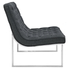 Ibiza Fabric Lounge Chair - Gray - EEI-2090-GRY