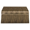 Polaris Wood Coffee Table - Walnut, Magazine Racks - EEI-2091-WAL