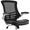 Attainment Office Chair - Adjustable Height, Mesh Back, Black - EEI-210-BLK