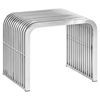 Pipe Stainless Steel Bench - EEI-2100-SLV