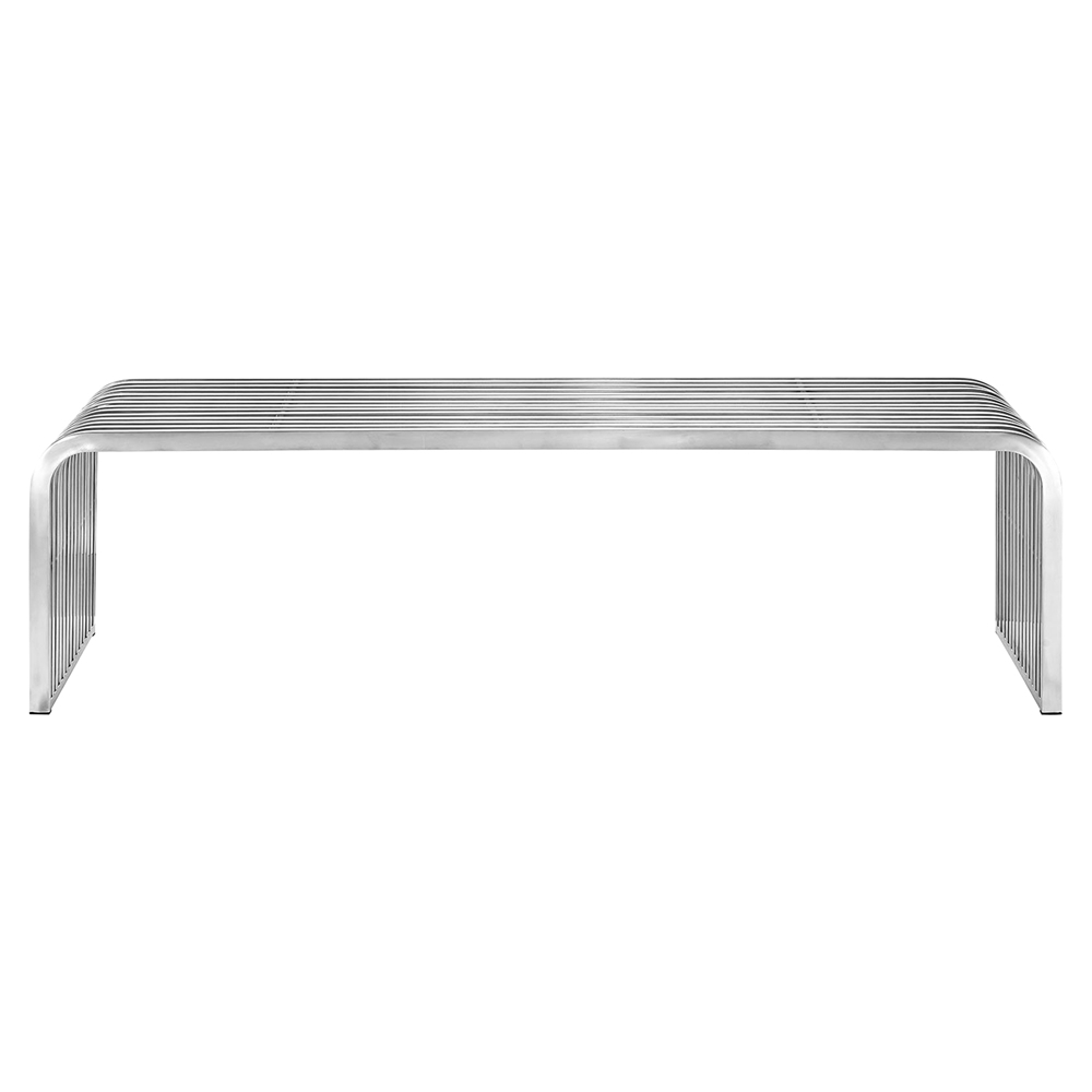 Pipe 60 Stainless Steel Bench Dcg Stores